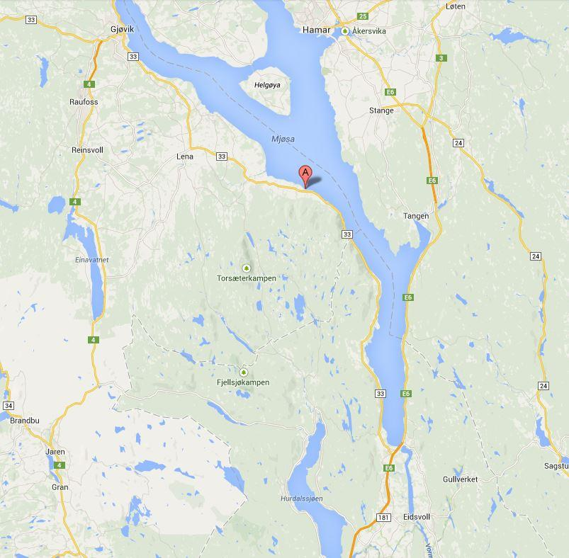 mjøsa kart Kart | Evjua Strandpark ved Mjøsa   Restaurant Camping Båthavn mjøsa kart
