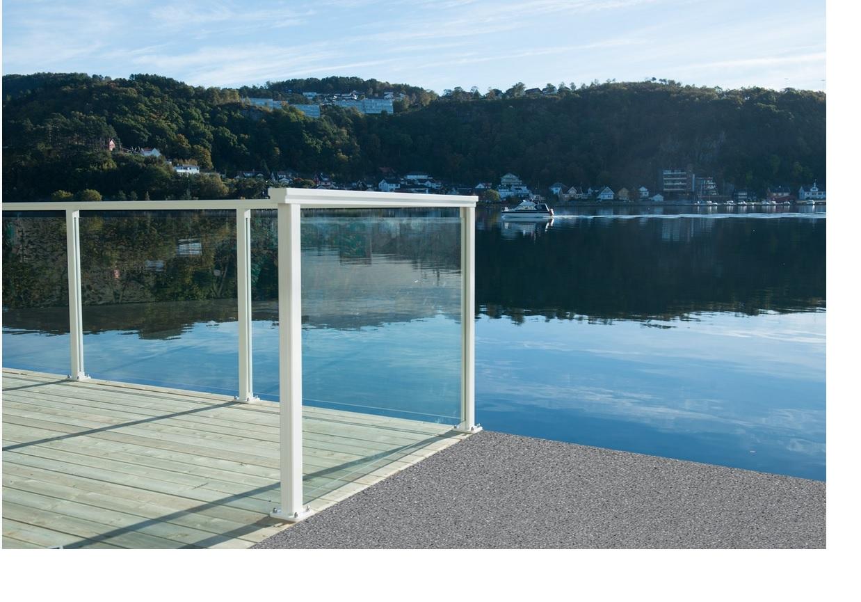 Glassrekkverk - Rekkverk - EW Glass & Plast