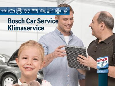 Temapakke Bosch Car Service Klimaservice