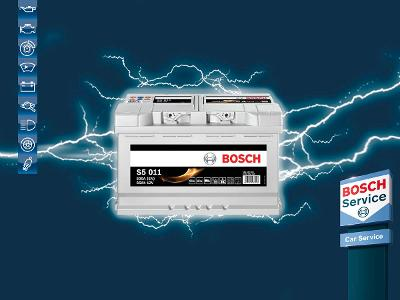 Batteritest hos Bosch Car Service