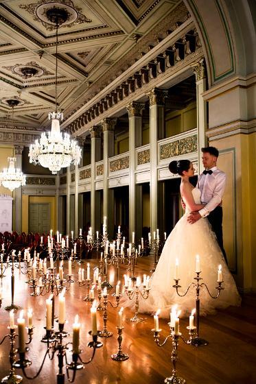 Bilde av brudepar - bryllupslokaler Oslo