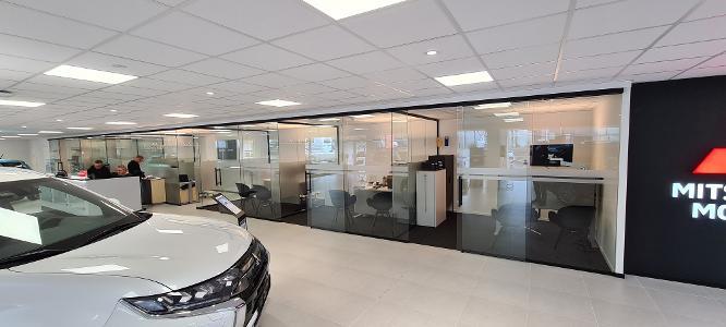 Nye moderne salgskontor
