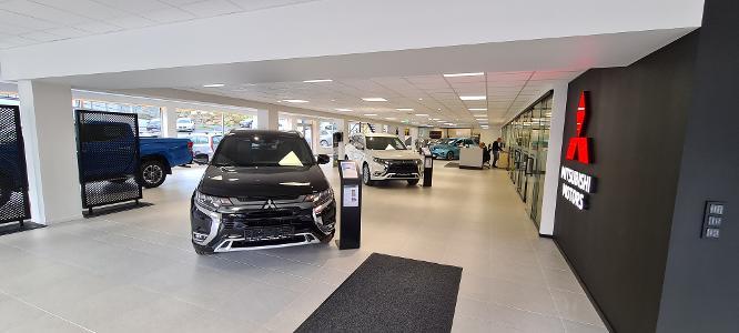Butikk nye biler
