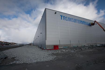 Elektroinstallasjon av Tromsø terminalen!