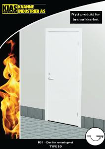 Kvanne Industrier - KIAS Branndør