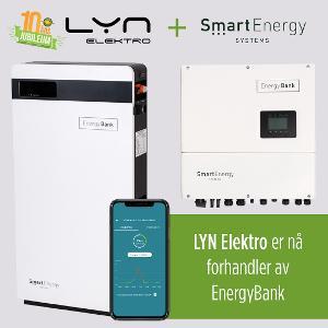 LYN Elektro er nå forhandler av Smart Energy Systems