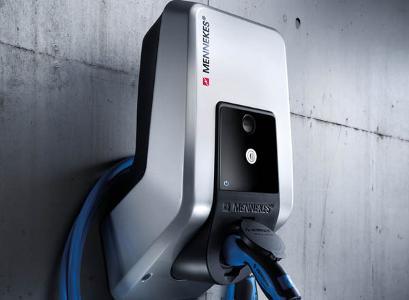 salto veggmontert elbil-lader til hjemmet