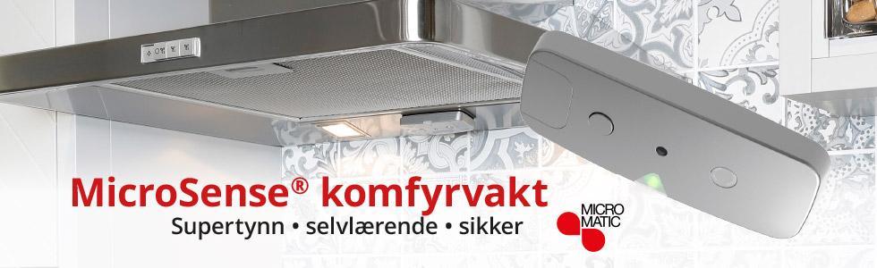 Kampanje: MicroSense komfyrvakt bilde