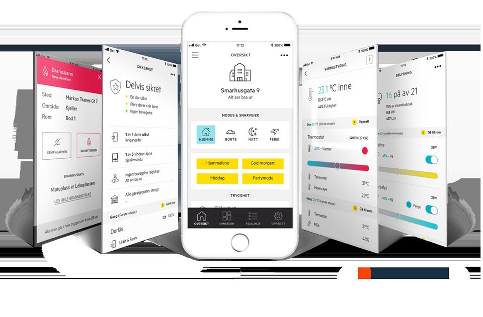 Futurehome App-oversikt