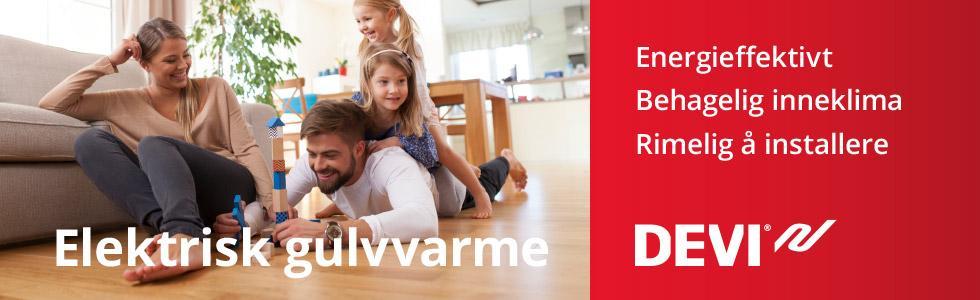 Kampanje: Elektrisk gulvvarme bilde