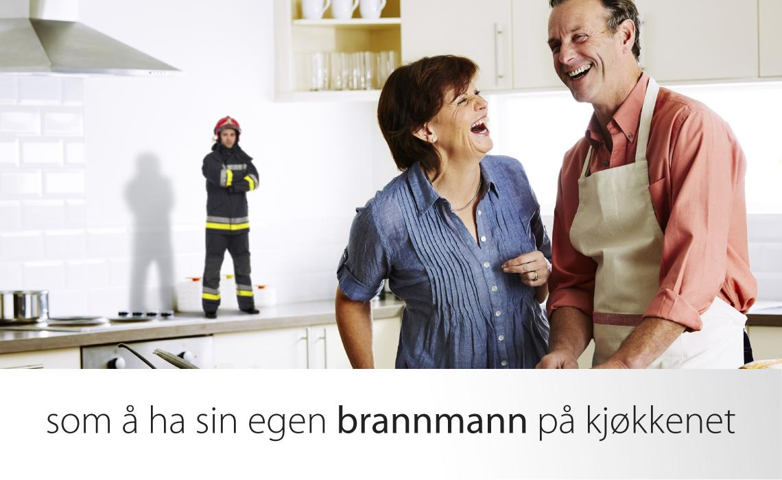 Komfyrvakt er som å ha sin egen brannmann på kjøkkenet