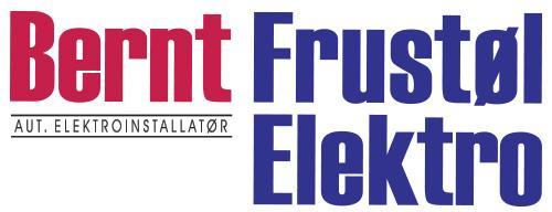 Bernt Frustøl Elektro A/S Logo