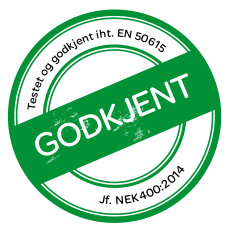 godkjent – logo