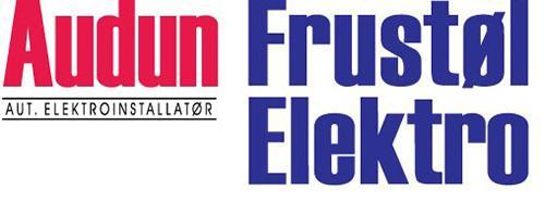 Audun Frustøl Elektro A/S Logo
