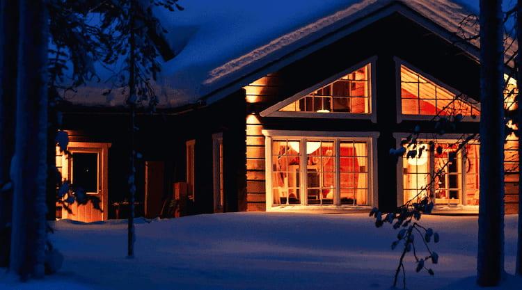 Kom til ferdig oppvarmet hytte