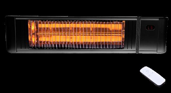 Provida Varme MATRIX Sort m fjernkontroll 2000W terrassevarmer.png