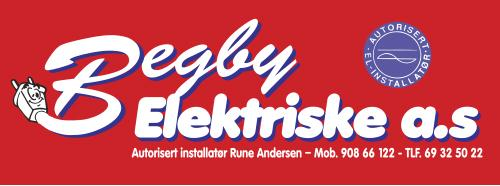 Begby Elektriske AS Logo