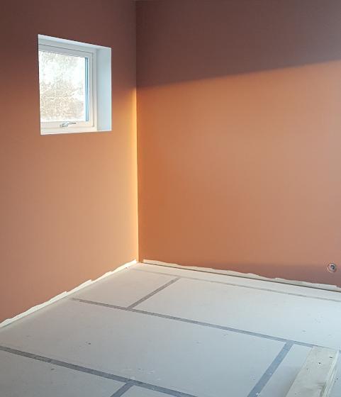 Maling og gulv