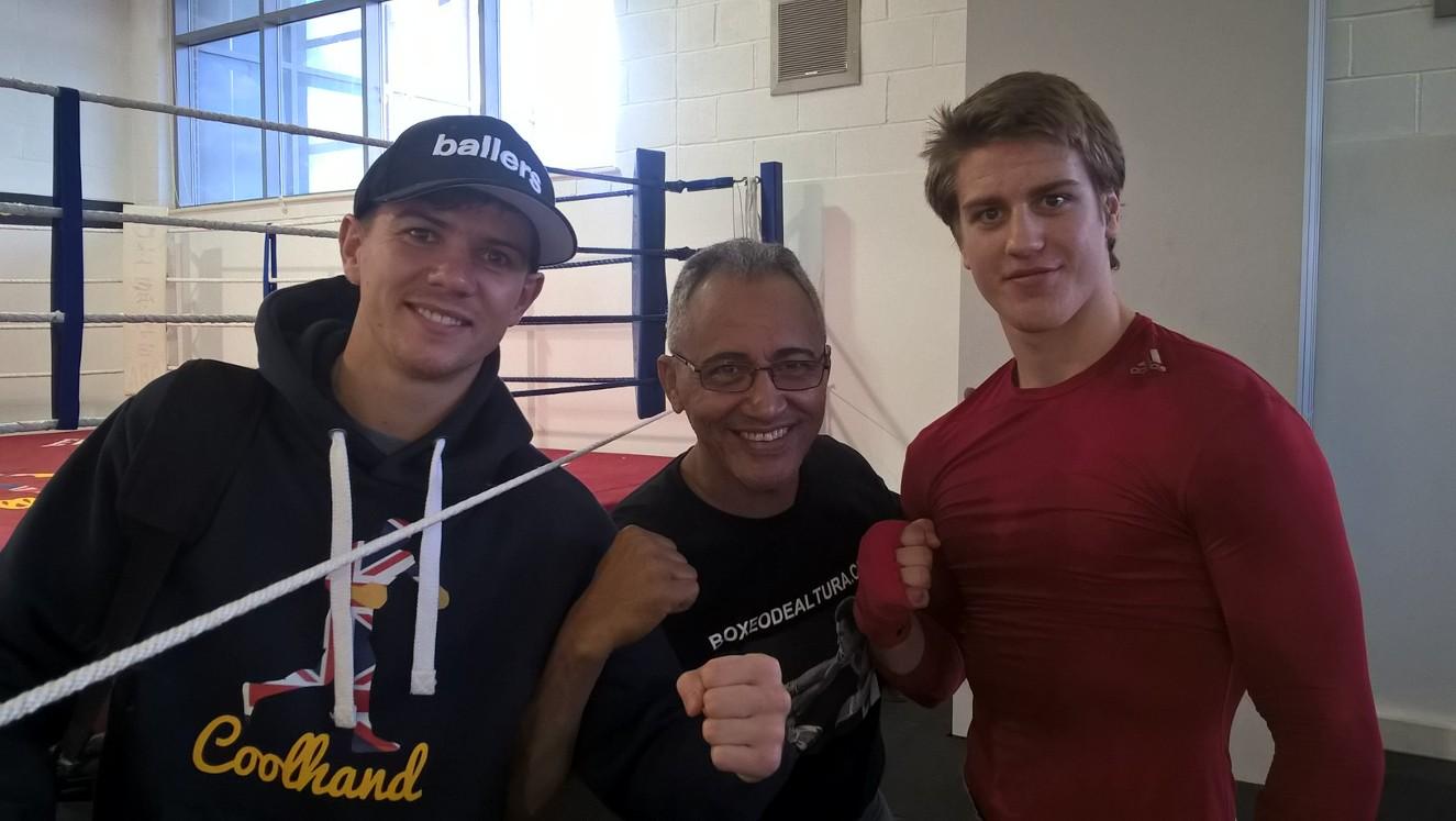 Martin Larsen på treningsleir i Hull med Jorge Rubio!
