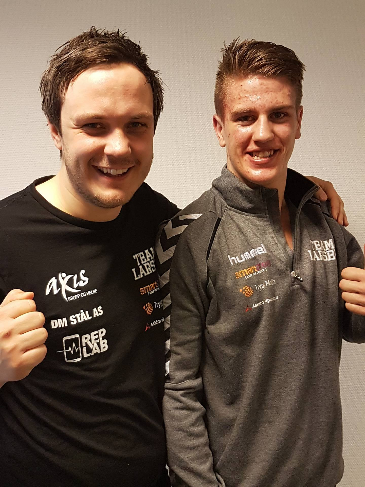 Martin Larsen med seier i kamp nr 104