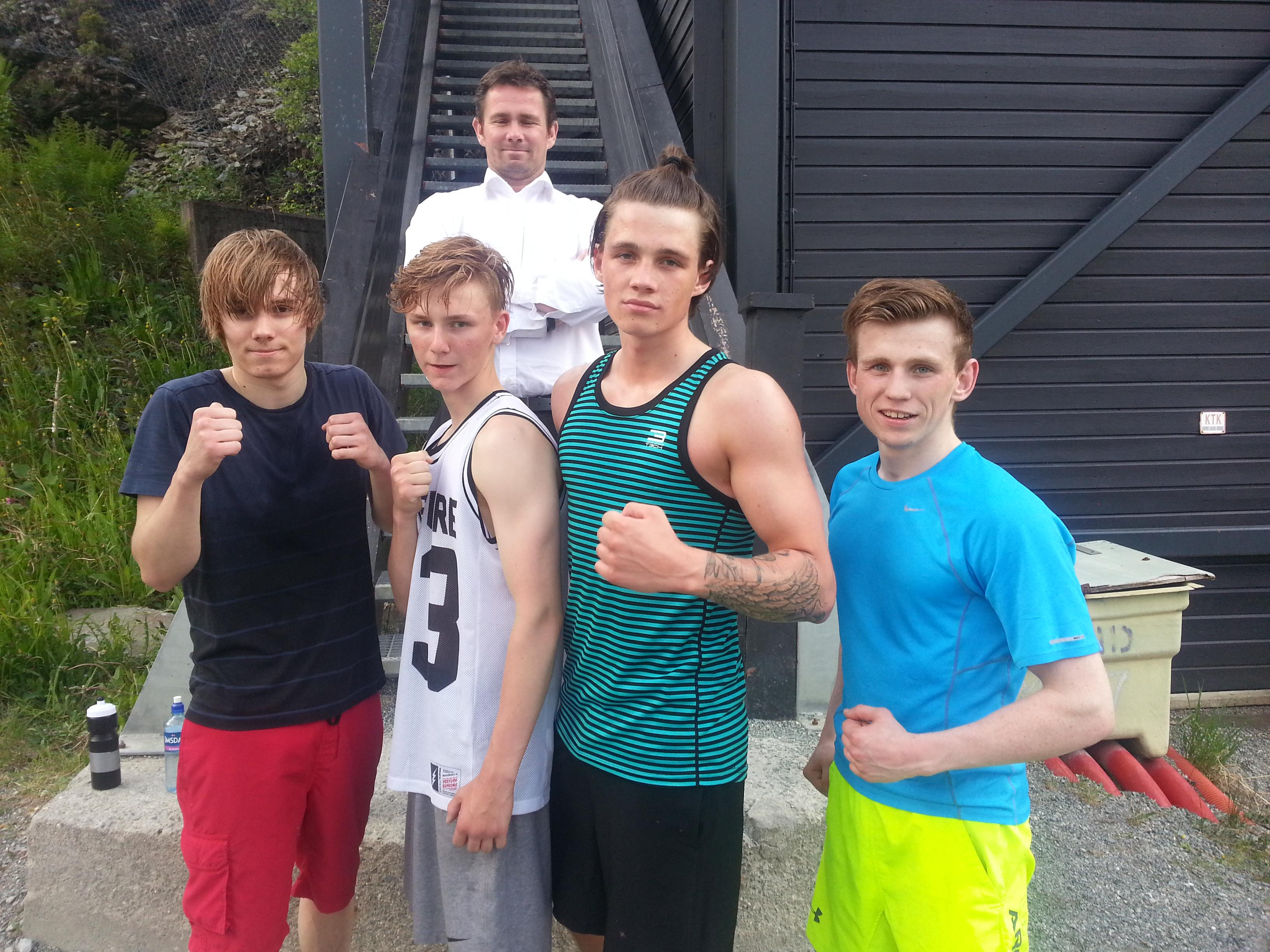 Team Trondheim trening i Granåsen