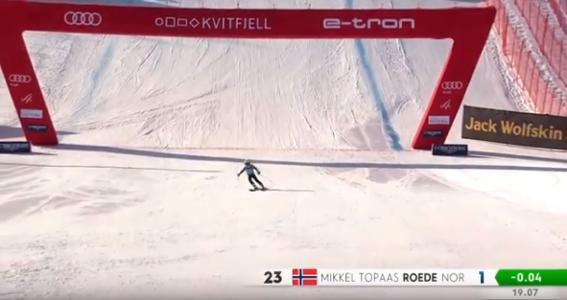 Jansrud Race 2020, World cup Kvitfjell