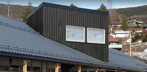 Framdrift klubbhus på Øyer Idrettspark