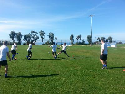 Fine treningsdager på Kypros