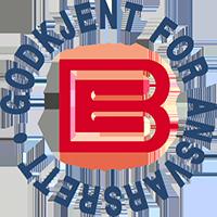 Godkjent for ansvarsrett logo