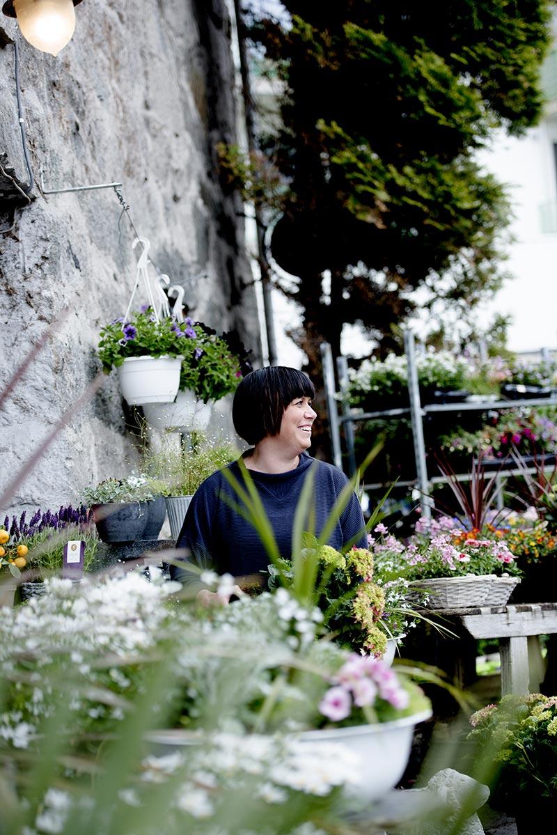 Ålgård blomster utbilde