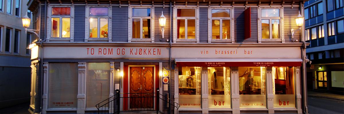 To Rom og Kjøkken - En a la carte restaurant i Trondheim sentrum