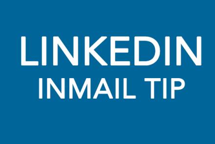 Linkedin inmail tip