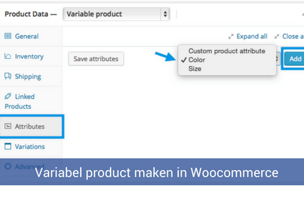 Variabel product maken in Woocommerce