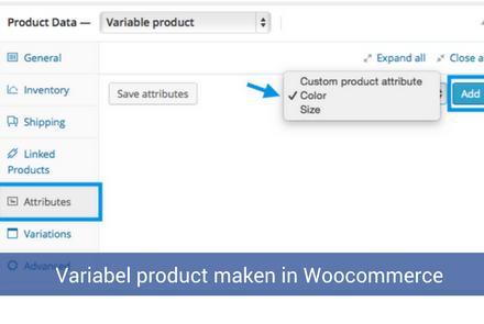 Variabel product maken in Woocommerce