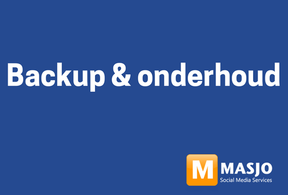 backup en onderhoud