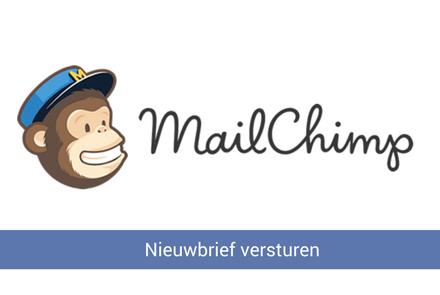 Nieuwsbrief versturen met Mailchimp