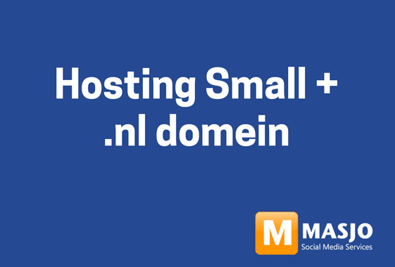 Hosting Small per jaar