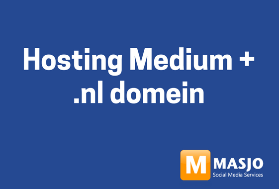 Hosting Medium per jaar