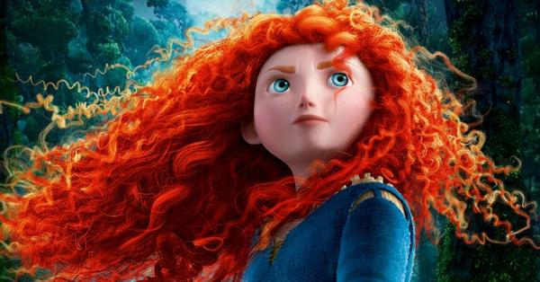 Merida la principessa single una braveheart dai capelli rossi