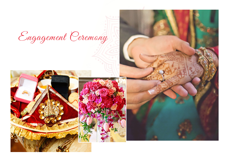 Engagement Ceremony Infographic | Wedding Ceremonies and Inspirations