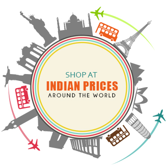 Shop Indian designer clothes and accessories at Indian prices all around the world!
