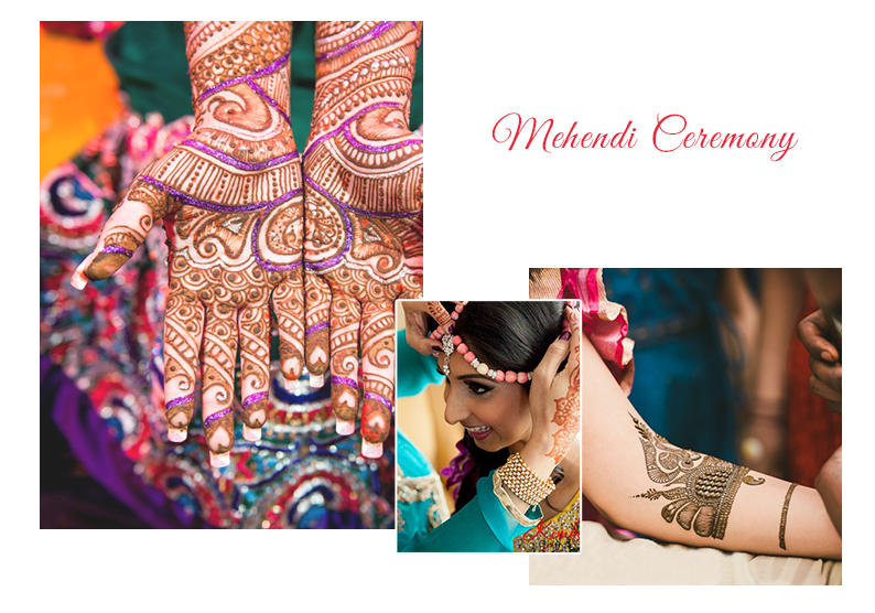 Mehendi Ceremony Infographic | Wedding Ceremonies and Inspirations