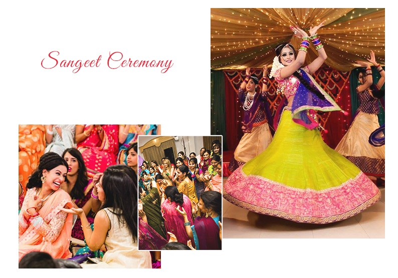 Sangeet Ceremony Infographic | Wedding Ceremonies and Inspirations