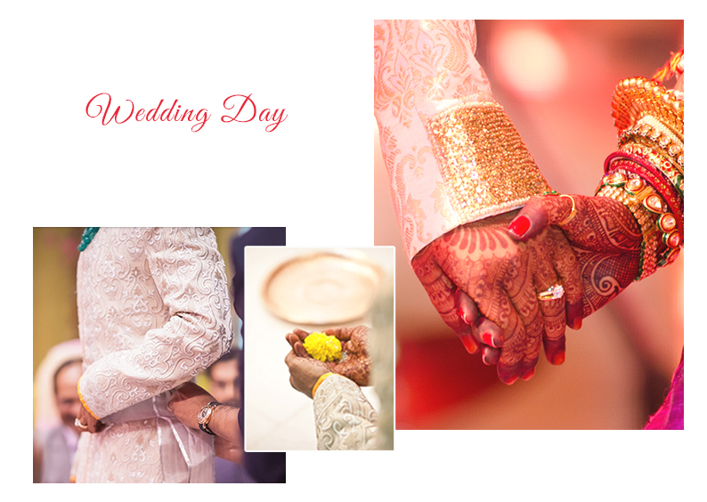Wedding Day Infographic | Wedding Ceremonies and Inspirations