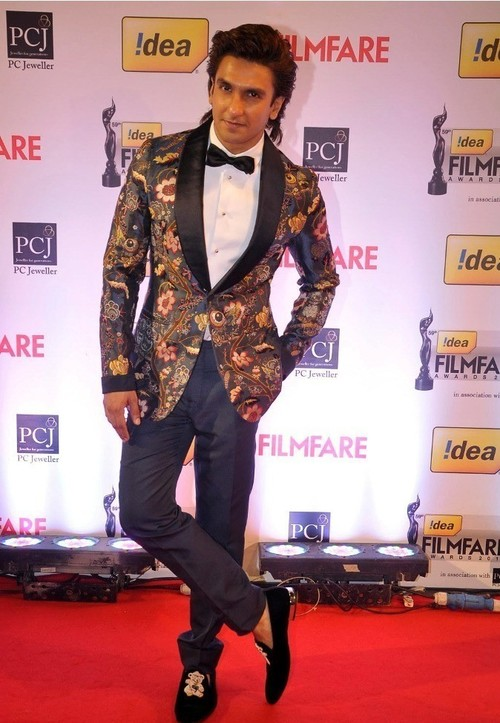 Ranvir Singh at Filmfare 2014