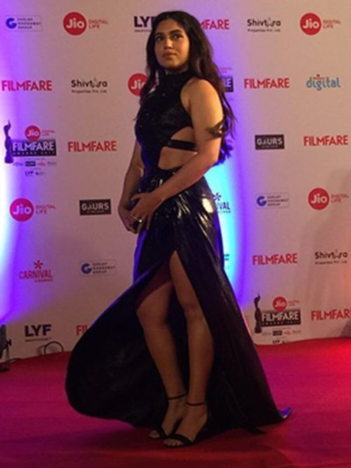 Bhumi Pednekar at Filmfare 2017