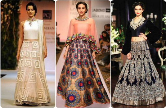 Celebrities Contemporary Lehengas | Guide to Accessorising Indian Bridal Lehengas