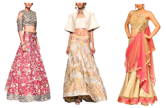 Contemporary Lehenga Look | Guide to Accessorising Indian Bridal Lehengas