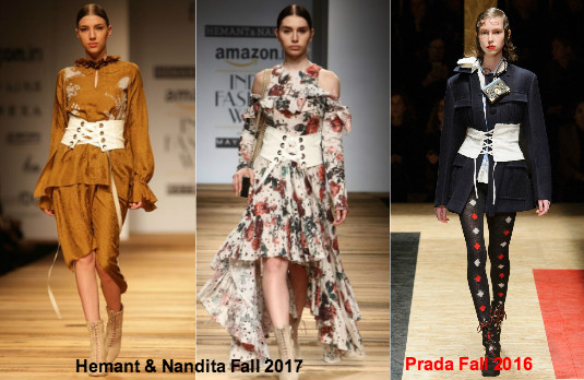 Amazon India Fashion Week | Hemant & Nandita Copy Prada