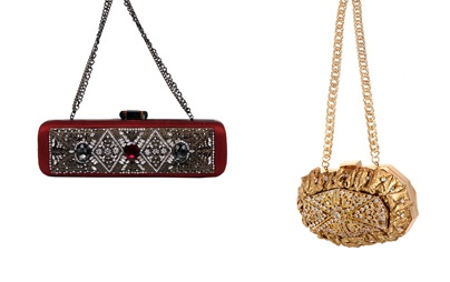 Clutches With Bling | Indian Wedding Accessories: The Perfect Clutch Bag